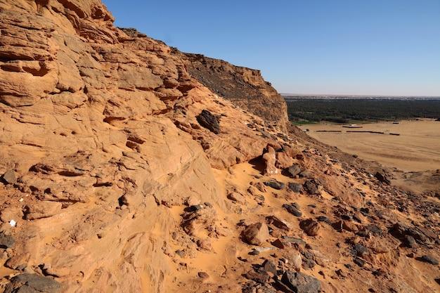Jebel barkal ist der heilige berg im sudan