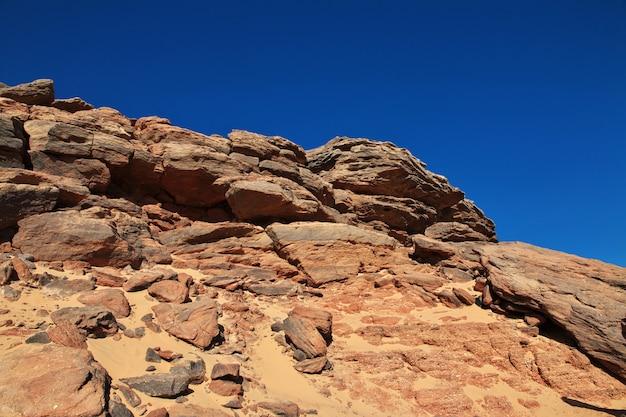 Jebel barkal ist ein heiliger berg im sudan