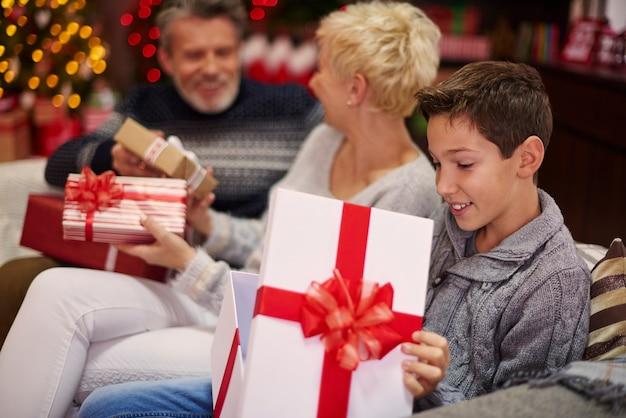 Jeder hat sein verträumtes geschenk