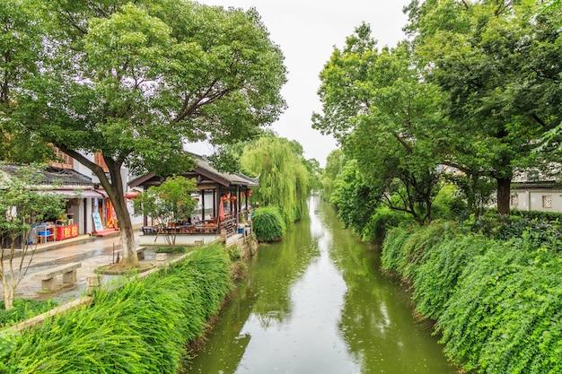 Jiangnan water village suzhou alte stadt straße
