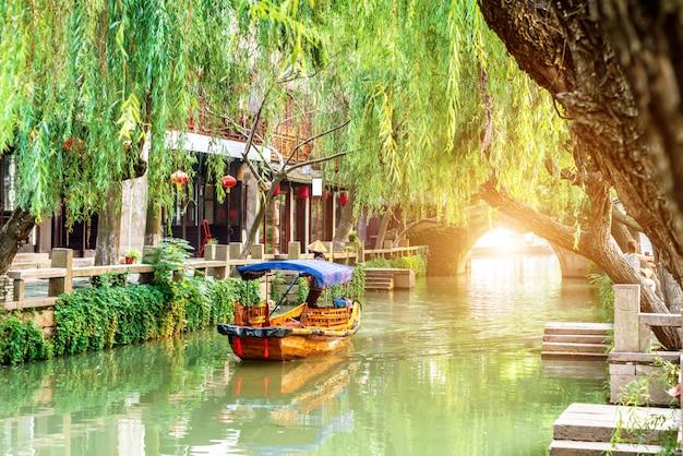 Jiangsu zhouzhuang landschaft