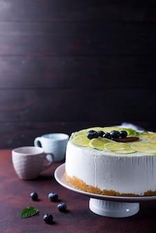 Joghurt-mousse-kuchen