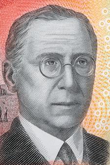 John flynn ein porträt aus australischen dollar