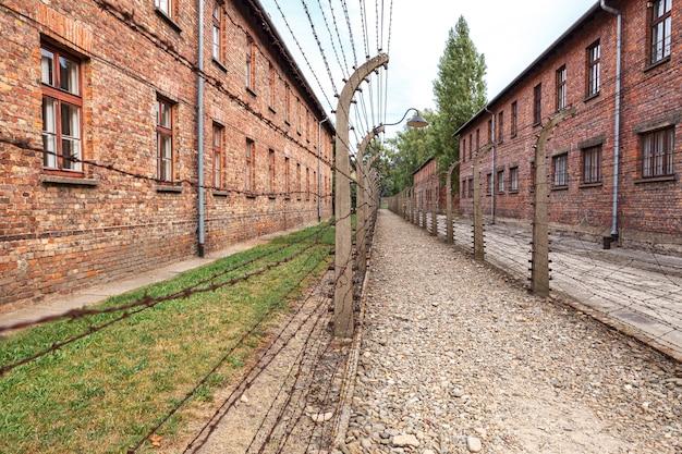 Jüdisches gefängnis auschwitz oswiecim im besetzten polen während des zweiten weltkriegs und des holocaust
