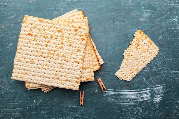 Jüdisches traditionelles matzobrot