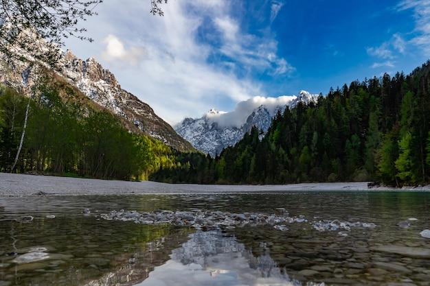 Julian alps triglav nationalpark in slowenien