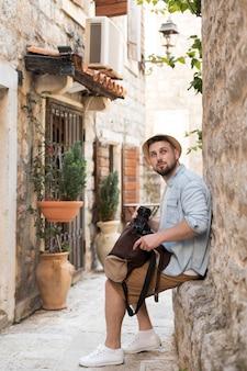 Junge männliche touristen in montenegro?