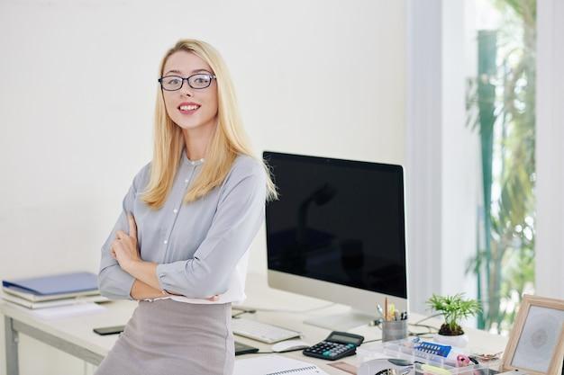 Junge unternehmerin