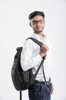 Junger indischer student, indien