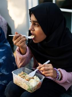 Junger muslimischer student