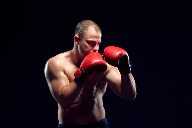 Junges boxerboxen