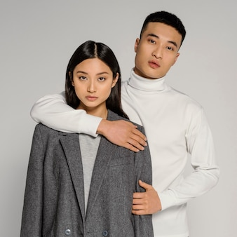 Junges japanisches paar