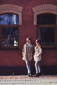 Junges modepaar