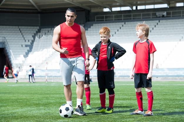 Junior team training