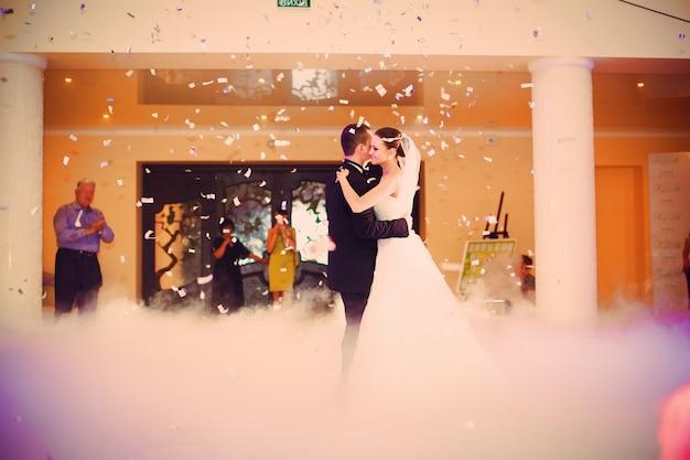 Just married tanzen