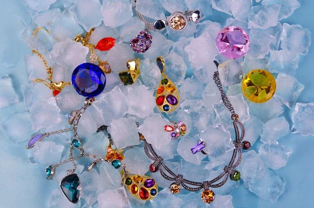 Juwelen auf eis
