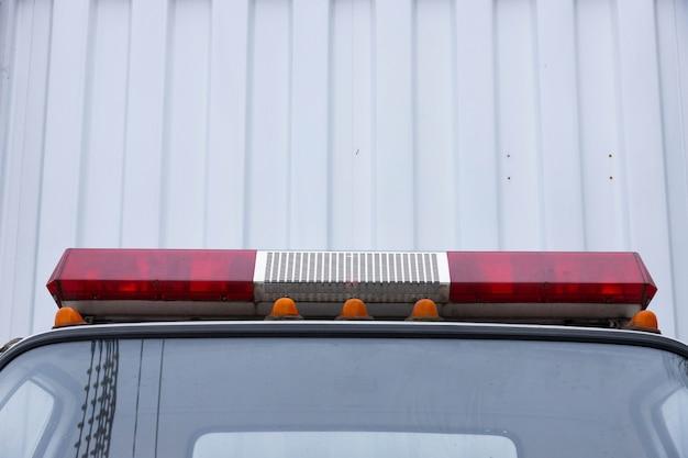 Kabine einer ladung, spezieller abschleppwagen.