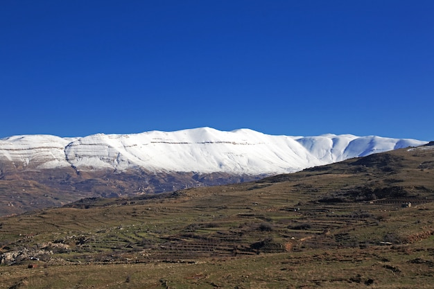 Kadisha-tal in den bergen des libanon