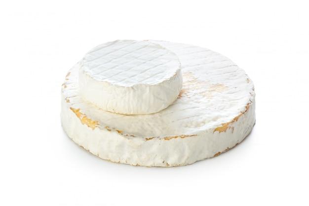 Käse, isoliert auf weiss