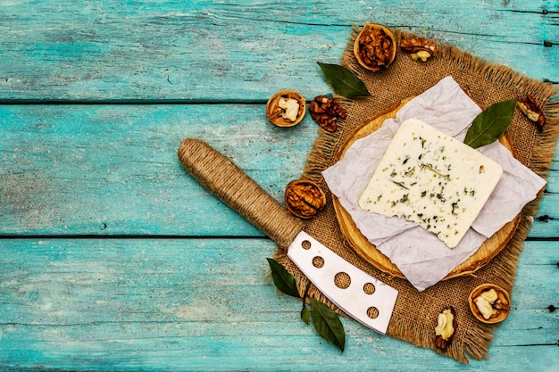 Käse mit blauschimmel