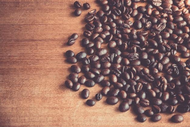 Kaffee am boden