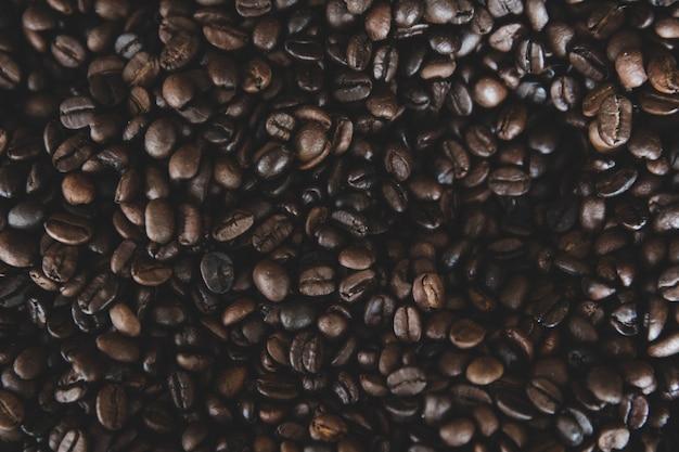 Kaffee bohnen textur hintergrund