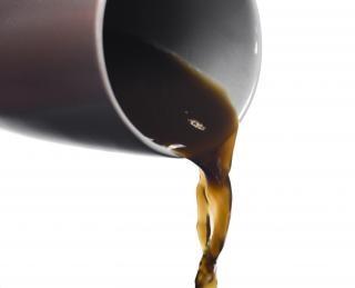 Kaffee heißes metall