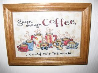 Kaffee kreuzstich