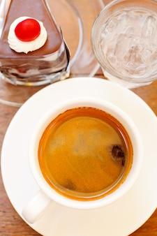 Kaffee- und kuchenset