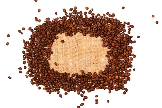 Kaffee und sackleinen