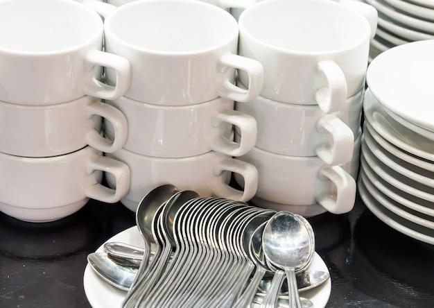 Kaffee und tee-set