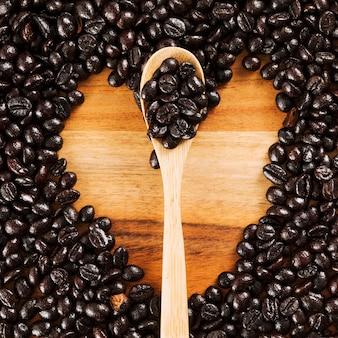 Kaffeebohnen hintergrund