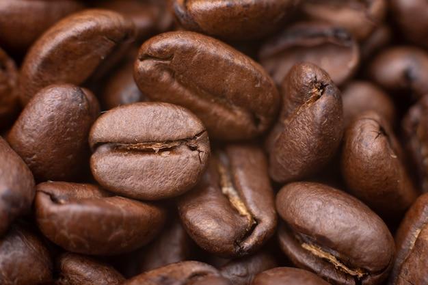 Kaffeebohnen hintergrund.