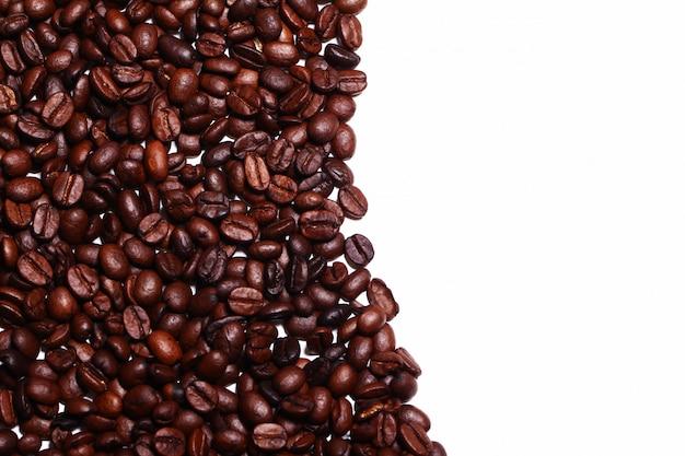 Kaffeebohnen mit copyspace