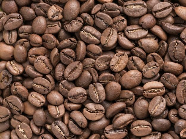 Kaffeebohnen nahaufnahme