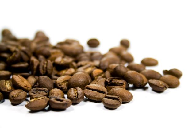 Kaffeebohnen-nahaufnahme