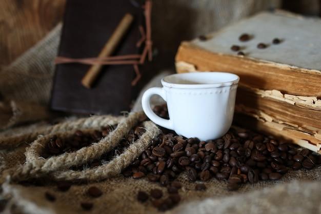 Kaffeebohnen-seilbuch