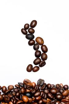 Kaffeebohnen zusammensetzung