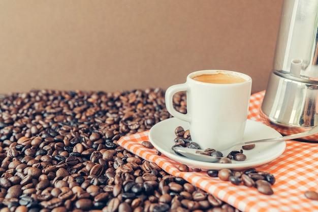 Kaffeedekoration
