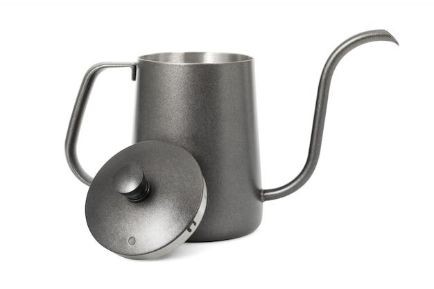 Kaffeekessel lokalisiert auf weißem hintergrund