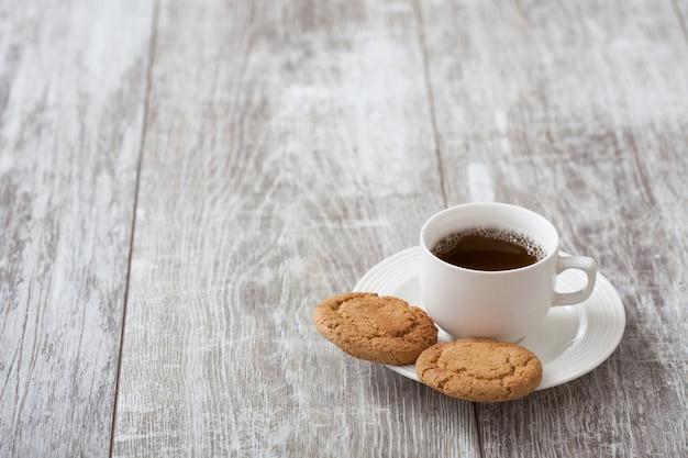 Kaffeepause. kaffee mit snack
