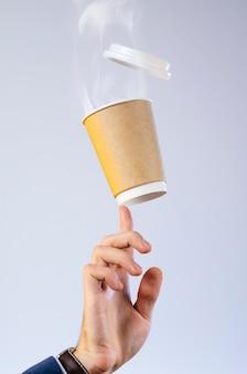 Kaffeepause-konzept