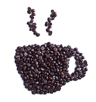 Kaffeetasse mit samen