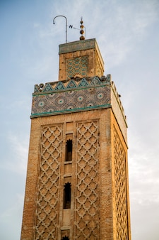 Kairaouine-moschee in fes, marokko