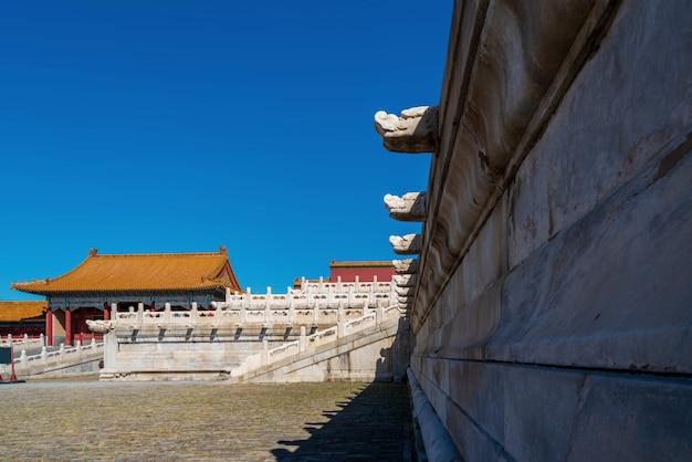 Kaiserpalast von peking, china