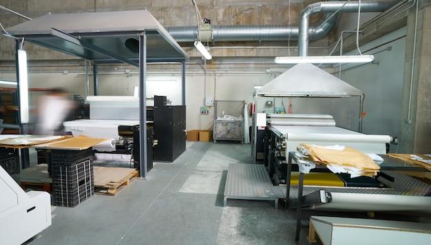 Kalandertransfermaschine für textilmodedruck
