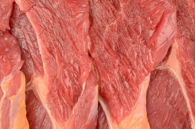 Kalbfleisch nahaufnahme textur hintergrund