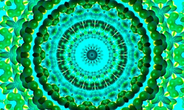 Kaleidoskop in form eines auges, abstraktes design, das surreal, stark, intensiv, dynamisch und kraftvoll ist, für banner, poster, flyer, tapeten, einladungen, hintergründe, websites, werbung