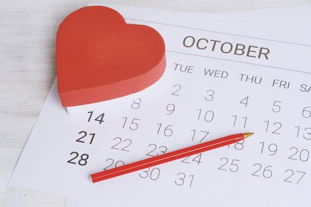 Kalender mit geschenkbox.