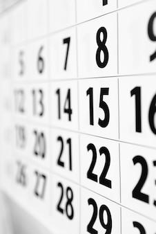 Kalendernahaufnahme